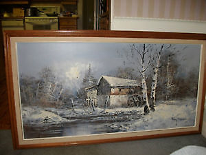 2 HUGE amazing RAY NORMAN OILS IN AMAZING CONDITION!!!!!!!!!!!!!