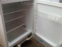Electrolux White once integrated Under Counter Fridge