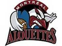 2 billets ALOUETTES (Section W1) 8 novembre (33% rabais)