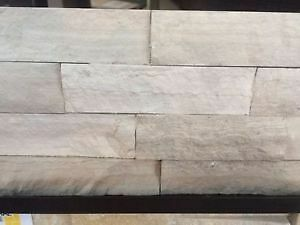 "Backsplash/Fireplace Mantel Stone-COLOUR: ""Silver Wood- CL"""