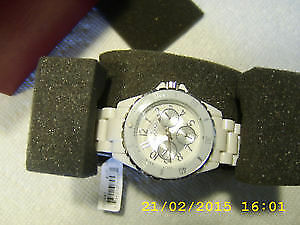 Peugeot resin band watch Japan movement $45