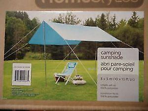 Homestyle Camping Sunshade 3 x 3 m, Retail for $60+tax