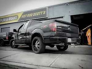 Ford F150 's Flowmaster or Magnaflow Duals Installed with Tips