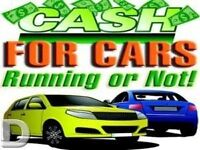 WANTED ALL MAKES ALL MODEL'S OF DAMAGED * * * SCRAP CARS * * * END OF LIFE VEHICLES