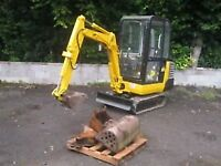 MINI DIGGER 1.5 TONS WANTED