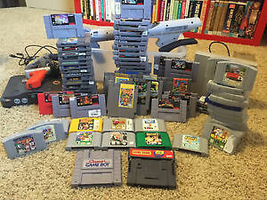 CASH PAID FOR OLD VIDEO GAMES GAME LOTS
