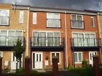 HULME - large double room available in gorgeous new-build 3-storey townhouse