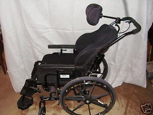 TILTING WHEELCHAIR -  LIKE NEW  - 1/2 PRICE of SUBSIDIZED COSTS