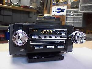 late 70s early 80s chevy delco AM FM car stereo