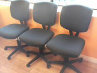 HON - VOLT TASK CHAIRS WITH CENTER-TILT FOR OFFICE - AS NEW
