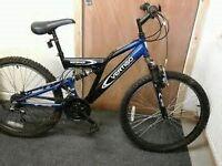 disc 24 inch wheel full supension bike