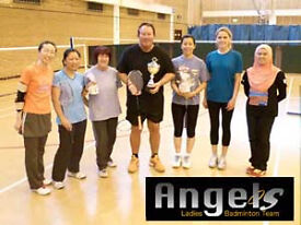 Angels - Ladies Badminton Club Monday trainings