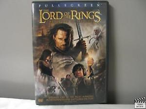 DVD  Lord of the rings-Return of the King  Seigneur des anneaux-