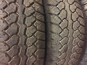 265/50R20	Bridgestone Blizzak 2 used tires 75% tread left