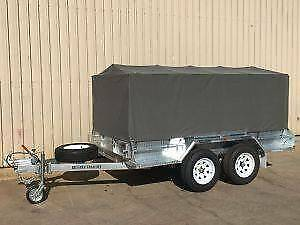 CANVAS COVERS TO FIT BOX TRAILERS IN VARIOUS SIZES Pooraka Salisbury Area Preview