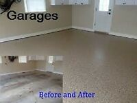 Epoxy Floors.  Garages as low as $999.00