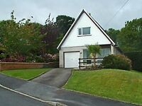 Two bedroom house with sea views for sale in Aberporth, Ceredigion