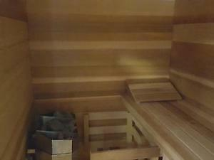 INDOOR AND OUTDOOR SAUNAS. MADE IN CANADA WITH REAL Peterborough Peterborough Area image 3