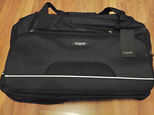 BUGATTI Large Travel Tote Duffel Shoulder Handbag, BNWT