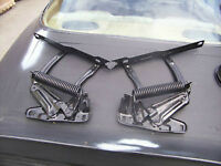 new hood hinges for GM cars power coated black camaro trans am
