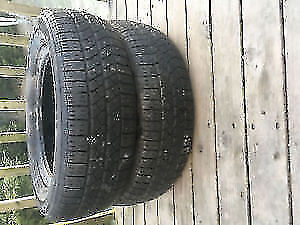 Two 185/65R14 Summer Tires