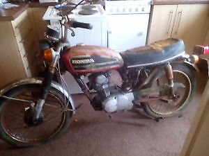 NEEDED - Older 1969 to 1978 Honda Motorcycle  or Parts