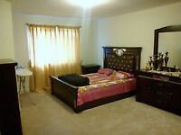 Masterbedroom with attached washroom & walk in