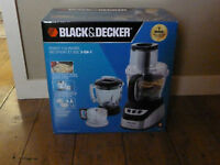 Black and Decker 3 in 1 Food Processor