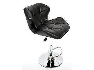 Black Leather Bar chair - Bars on Sale (BD-2667)