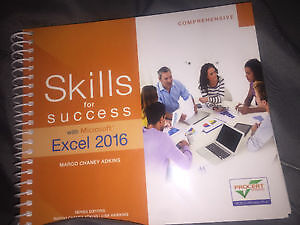 Skills for Success with Excel 2016