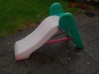 Toddler little tikes slide