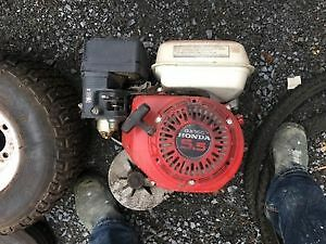 5.5 HP engine with clutch