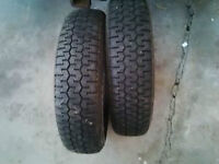 """Michelin XZX Radial Tires 13"""""""