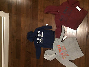 3 NWT OLD NAVY ZIPPER UPS 2T