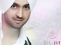 DILIJIT DOSANJH TICKETS @ FIRST BALCONY ROW 1 @ BELOW COST @