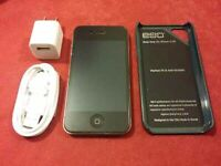 IPHONE 4/BLACK /8GB/ROGERS
