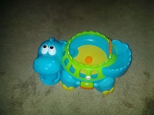 Fisher price go baby go poppity pop musical dino Kitchener / Waterloo Kitchener Area image 1