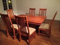 Dinning table with chairs 514-963-4612