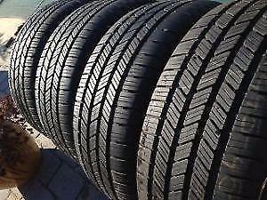 275/60R20Goodyear Wrangler SR-A Set of 4 Used allseason tires 80%tread left Free Installation and Balance