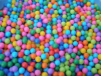 1000 to 10 000 color plastic balls for rent