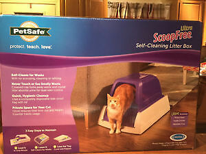 SELF CLEANING/  AUTO CLEAN CAT LITTER BOX