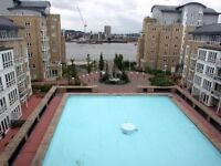 Lovely two double bed apartment in the sought after St Davids Square E14 - Gym, Sauna, Pool, Parking