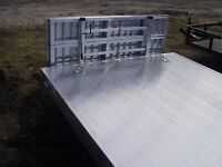 2010 R&R Open Aluminum Car Hauler Trailers