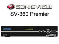 Sonicview 360 Premier FTA Satellite Receiver