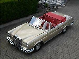 mercedes w111 cabrio ebay. Black Bedroom Furniture Sets. Home Design Ideas