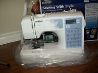 One sewing machine Brother CE5500T
