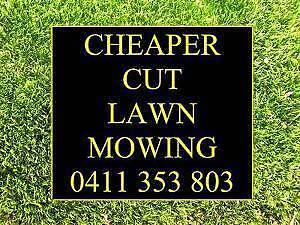 Cheaper Cut Lawn Mowing Pooraka Salisbury Area Preview