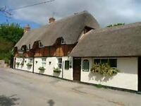 Front of house / bar / deputy manager for a classic thatched village pub in Oxfordshire