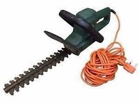 Black and Decker hedge trimmer.