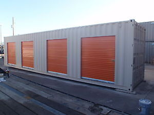 Custom Modified 20' or 40' Shipping Storage Containers